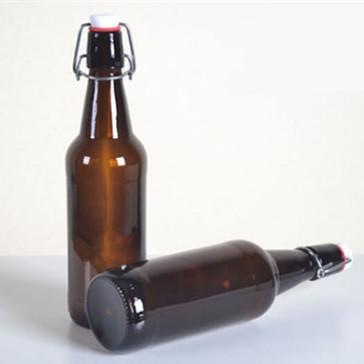 330ml amber beer bottles